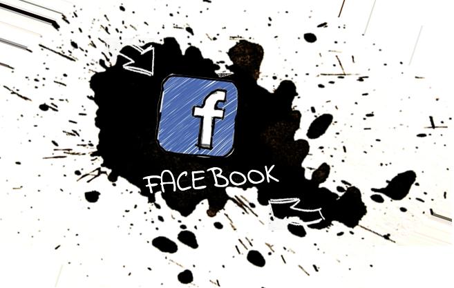 Die Stichelei auf facebook